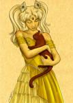 Sketch: Princess Arabeth by sailorangel