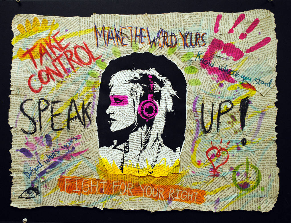 Speak Up by Candy-Ice