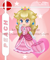 Brawl Chibis - Peach by Candy-Ice