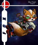 Brawl Chibis - Fox by Candy-Ice