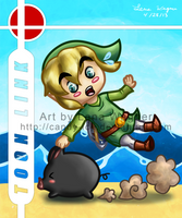 Brawl Chibis - Toon Link by Candy-Ice