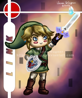 Brawl Chibis - Link by Candy-Ice
