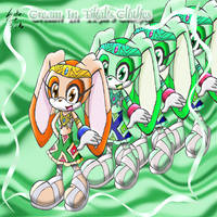Cream in Tikal's Clothes by Candy-Ice