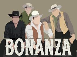 Bonanza Minimalist Portrait by GoldenYak9753