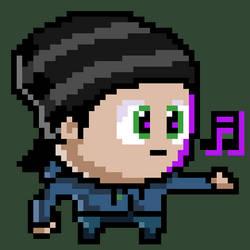 Pixel Portrait by GoldenYak9753