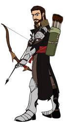 Konnor Trevelyan Dragon Age: Inquisition (Flats) by deadpooleyo