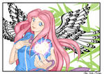 Give The Gift Of Art Contest Entry - ANGEL HEART by Anisa-Mazaki