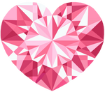 Pink Crystal Heart Vector 2 by Anisa-Mazaki