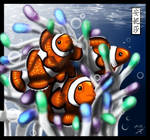 Clownfish by Chayt - Coloured by Anisa-Mazaki