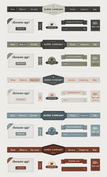 Retro Web Elements by loreleyyy