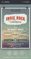 Indie Rock Flyer by loreleyyy