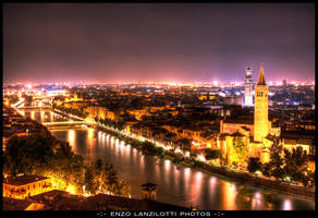 Panoramica Verona by Brompled