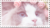 F2U - Pastel Pink Cat Stamp by Fallen-Petal-Arts