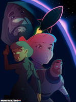 SPACE PYRATES by HughFreeman