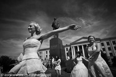 Dancing with Lenin 2 by iconicarchive