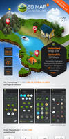 3D Map Generator 2 - Isometric by GraphicAssets
