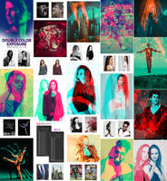 Color Double Exposure Photoshop Action by GraphicAssets