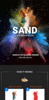 Sand Photoshop Action by GraphicAssets