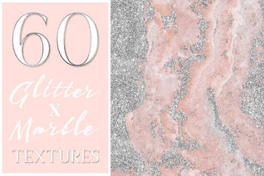 Glamorous Glitter x Marble Textures by GraphicAssets
