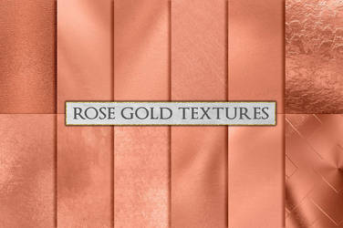 Rose Gold Foil Background Textures by GraphicAssets