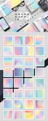 Holographic gradients by GraphicAssets