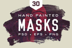Painted Masks by GraphicAssets