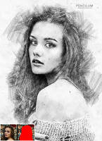 Pencilum - Real Hand Drawn Photoshop Action by GraphicAssets