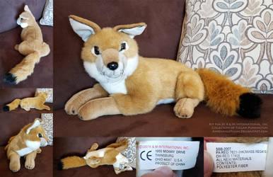 Kit Fox by K M International, Inc by AhrendalePlush