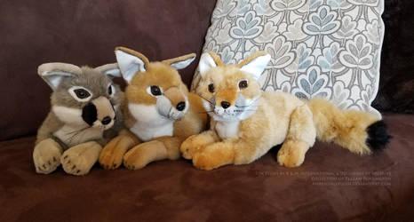 Kit Fox Plush by AhrendalePlush