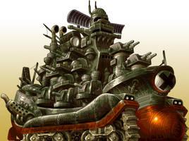 Cuarto jefe Metal Slug 2 by AlbertoV