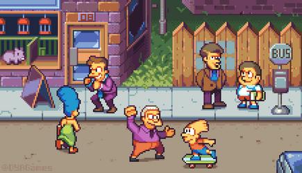 The Simpsons Arcade by AlbertoV