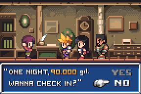 Final Fantasy VII Inn by AlbertoV