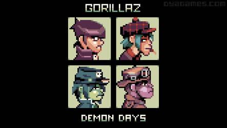 Demon Days by AlbertoV