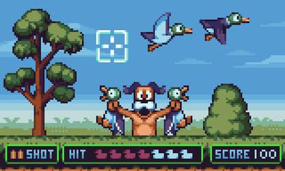 Duck Hunt by AlbertoV