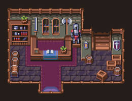 Shop tileset by AlbertoV