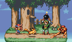 Super Smash Bros 64 by AlbertoV