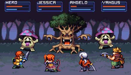 Dragon Quest VIII by AlbertoV