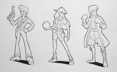 Characters design - part 3 by AlbertoV