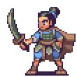 Asian warrior by AlbertoV
