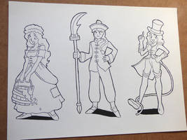 Characters design - part 5 by AlbertoV