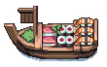 Sushi Boat by AlbertoV