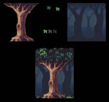 Tree-background by AlbertoV