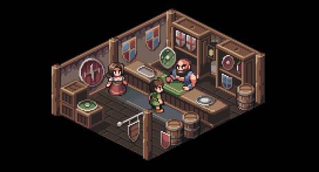 Shield shop by AlbertoV