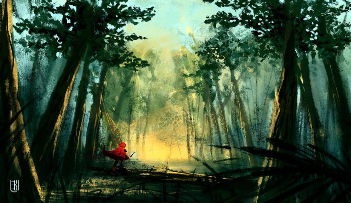 Cloak of Red by GinnyKZ