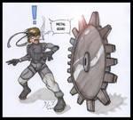 Metal Gear by JamieKuumuzuART