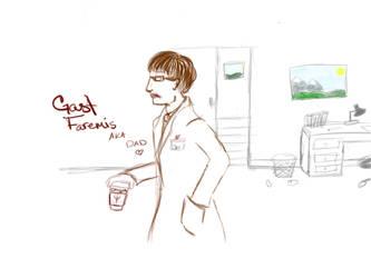 Professor Gast [a.k.a. Dad~] by caskuro