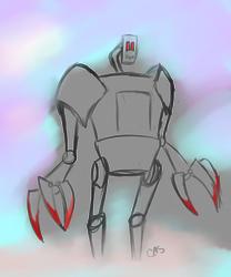 Robot 01 by caskuro