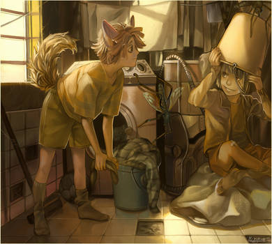 Laundry by viki-vaki