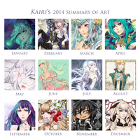2014 Summary of Art by Kairi-H