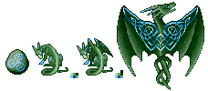 DragCave Celtic Dragon by AdmYrrek-Pixels